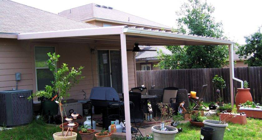 Simple Custom Patio Cover Northwest San Antonio Carport