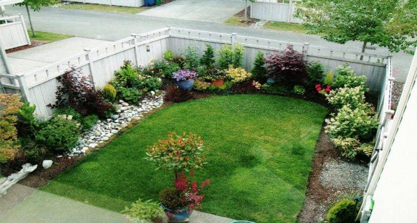 Simple Cute Front Yard Landscaping Ideas