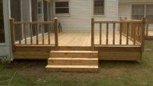 Simple Deck Ideas Cedar Img New