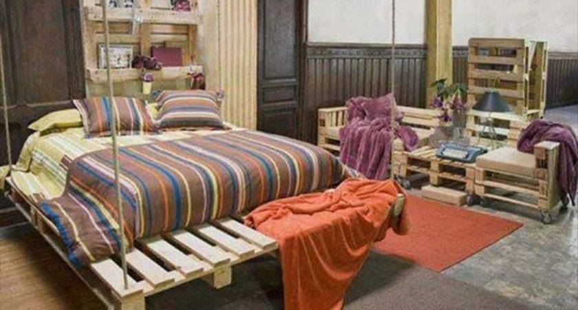 Simple Diy Pallet Hanging Bed Ideas Pallets
