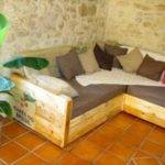 Simple Diy Pallet Sofa Bed Furniture Pallets Designs