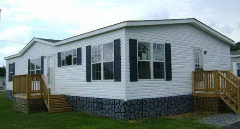 Simple Double Wide Trailer Houses Sale Placement