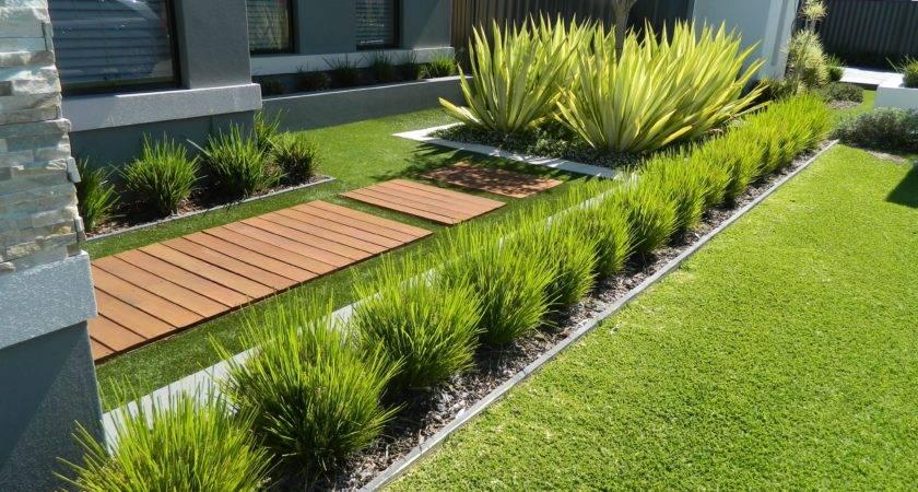 Simple Landscaping Ideas Around Deck