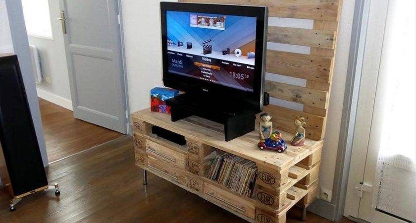 Simple Pallet Stand Designs Ideas Can Try Home