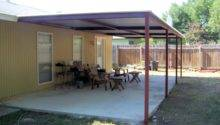 Simple Porch Cover Northwest San Antonio Carport Patio