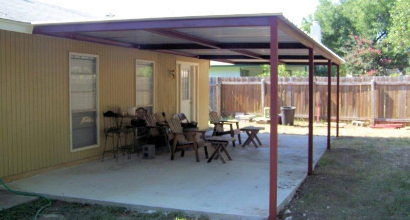 Simple Porch Cover Northwest San Antonio Carport Patio