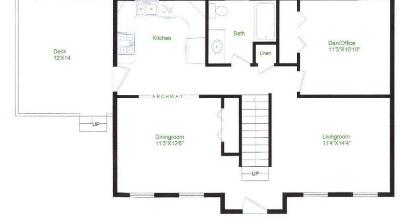 Simple Ranch House Floor Plans Best