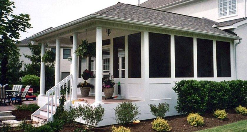 Simple Screened Porch Plans Jbeedesigns Outdoor
