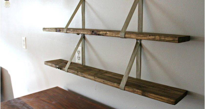 Simplistic Wood Shelf Projects Design Modern