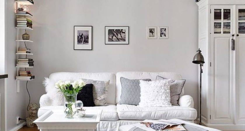 Simply White Living Room Ideas Abpho