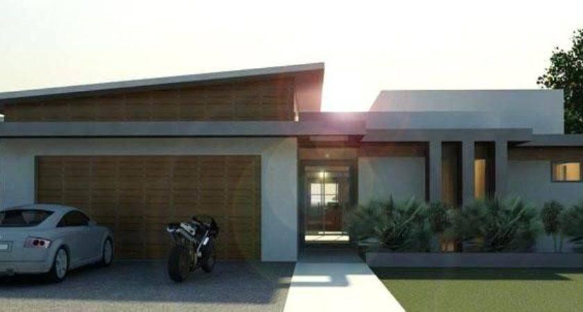 Single Story Flat Roof House Designs Gurwich