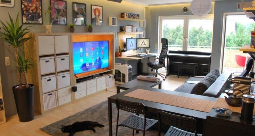 Single Studio Apartment Designs Under Square Metres