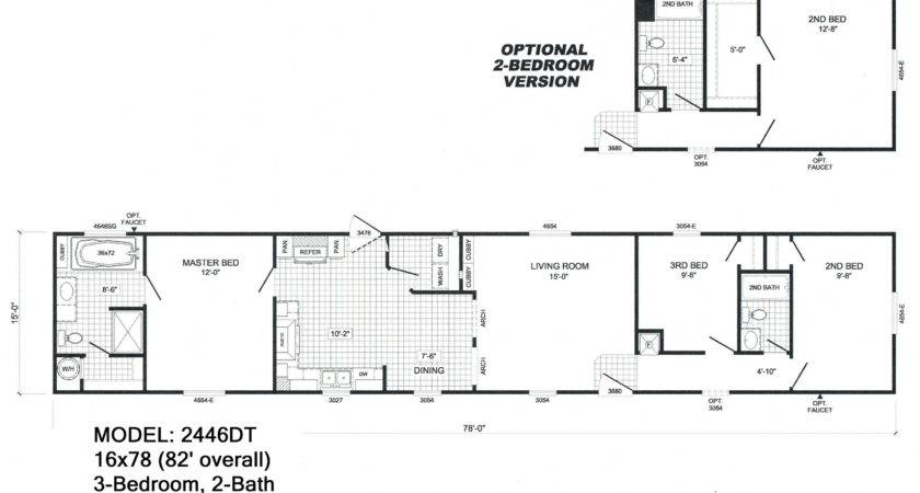 Single Wide Floorplans Mccants Mobile Homes