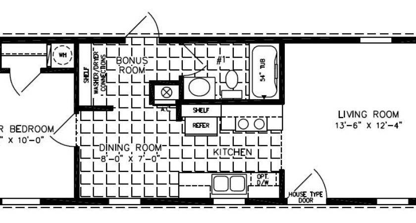Single Wide Mobile Home Floor Plans Cavareno