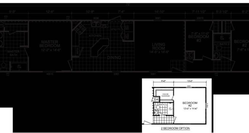 Single Wide Mobile Home Floor Plans Michigan