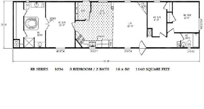 Single Wide Trailer Home Floor Plans Modern Modular
