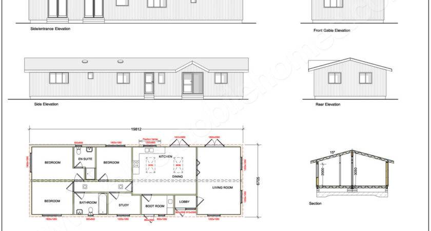 Sizes Mobile Homes Twin Home Floor Plans