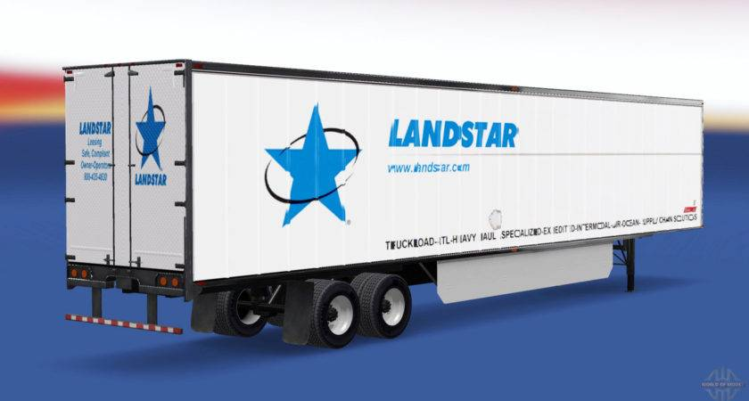 Skin Landstar Trailer American Truck Simulator