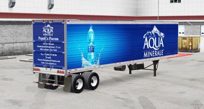 Skins Beverages Trailer American Truck Simulator