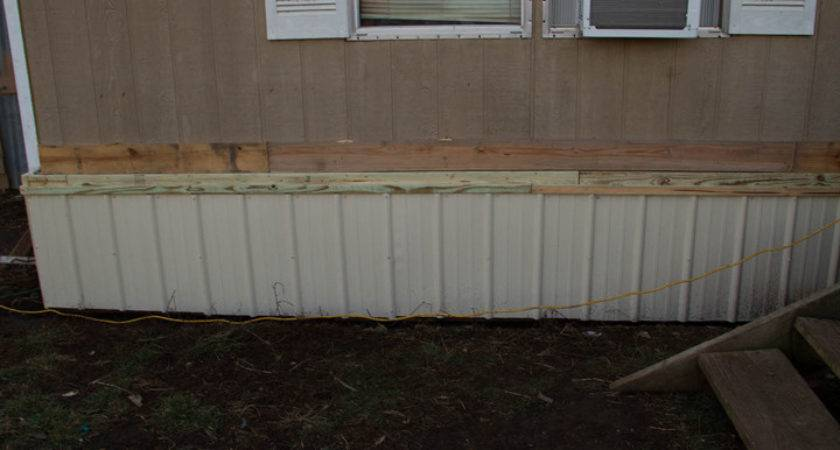 Skirting Mobile Home Metal Homes Ideas