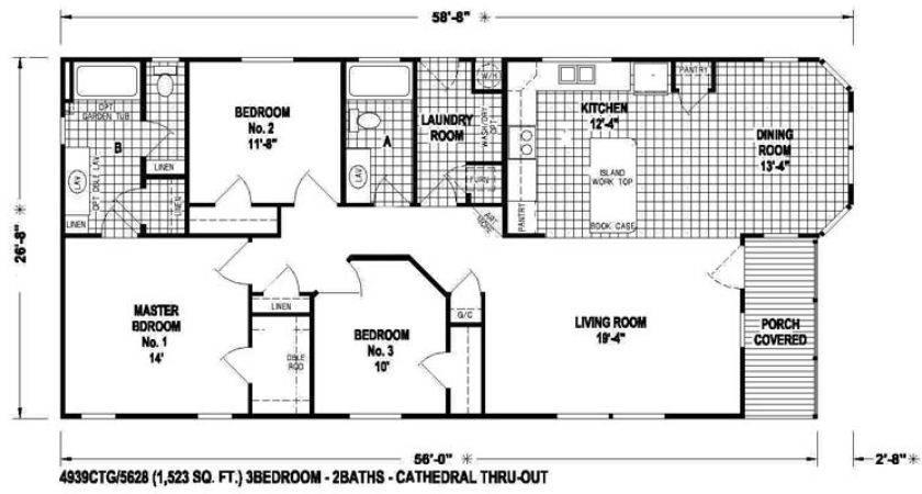 Skyline Mobile Homes Floor Plans House Design