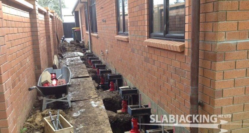 Slabjacking House Foundation Crack Repair Christchurch
