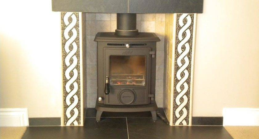 Slate Fireplace Surround Tile Designs
