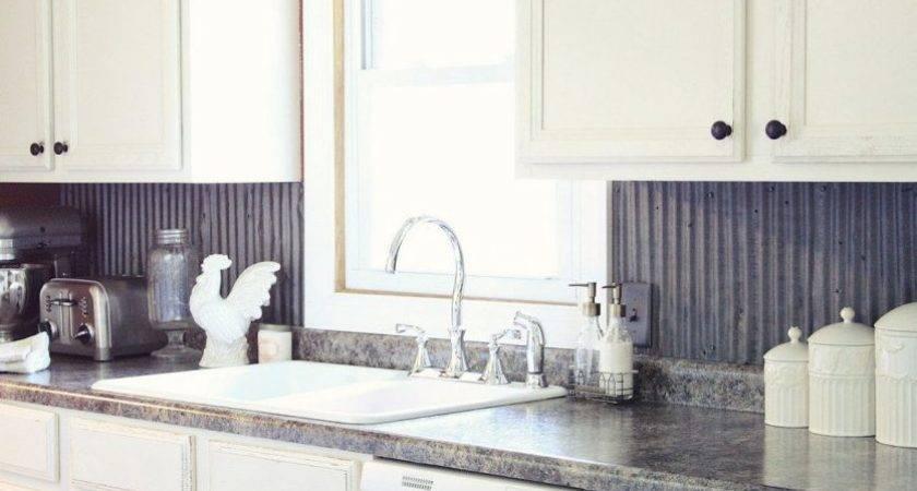 Sleek Kitchen Backsplash Ideas Using Metal Sheet Hometren
