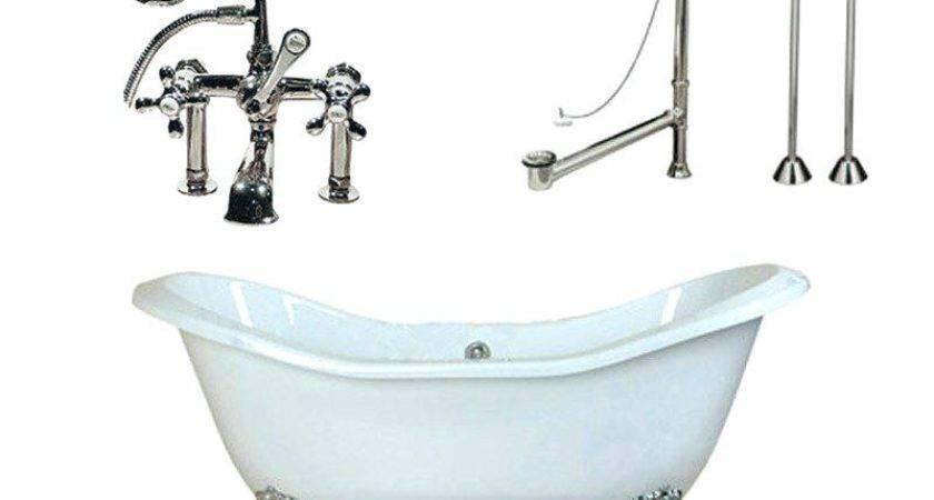 Slipper Clawfoot Tub Fiberglass Bathtub Repair