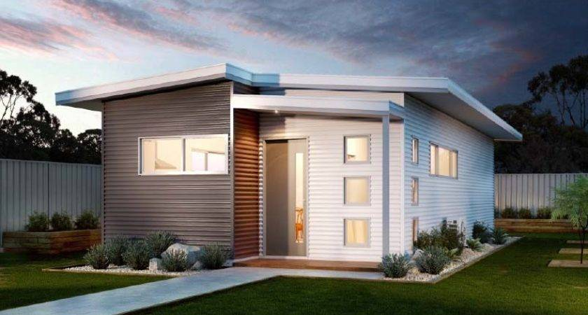 Small Affordable Modular Home Modern