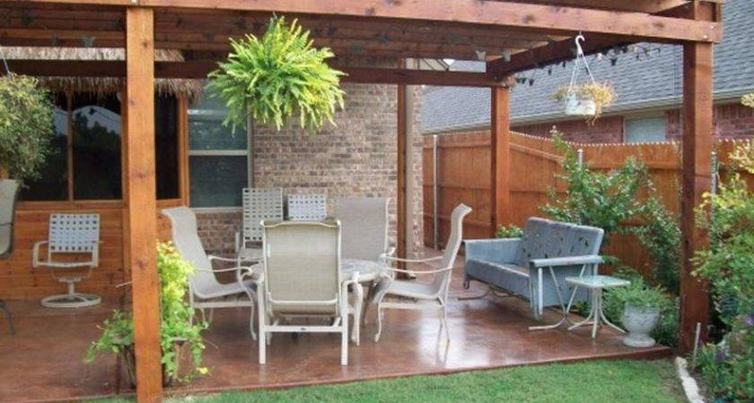Small Back Patio Ideas Try Out Home