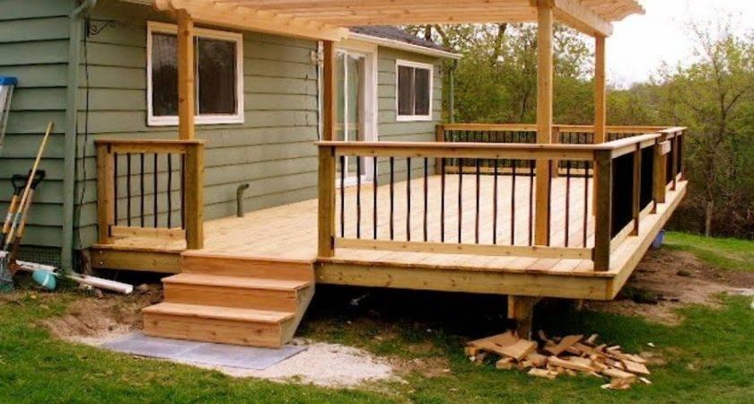 Small Backyard Decks Fire Pits Deck