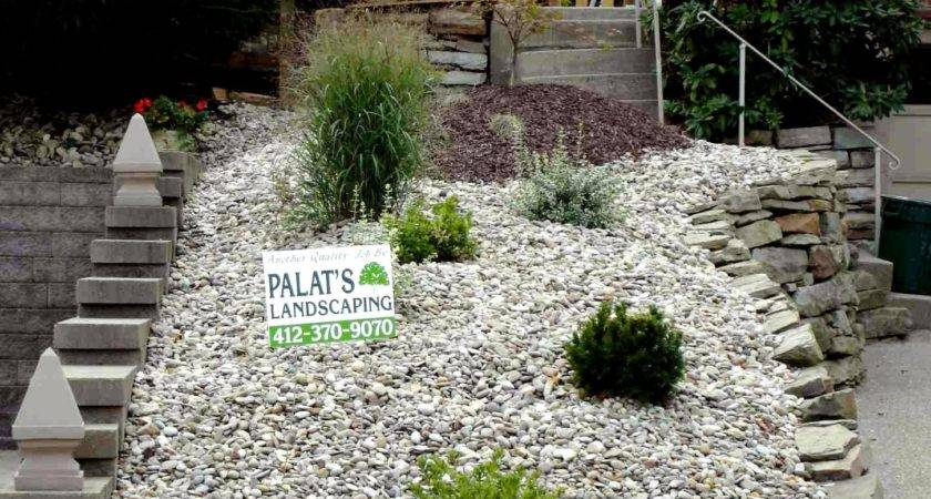 Small Backyard Landscaping Ideas Rocks Rock Lava