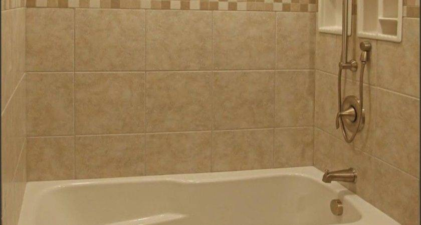 Small Bathroom Alcove Bathtub Shower Combo