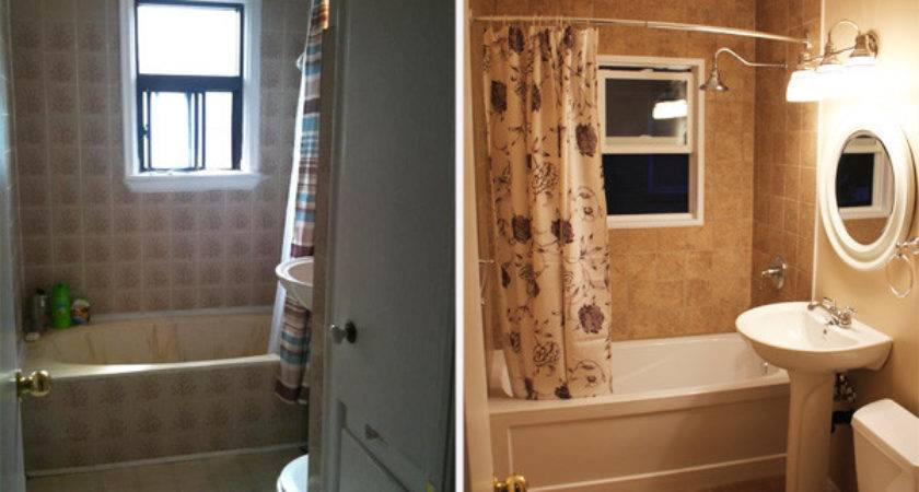 Small Bathroom Remodel Master Before After