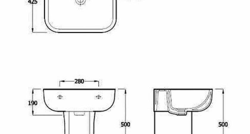 Small Bathroom Sink Standard