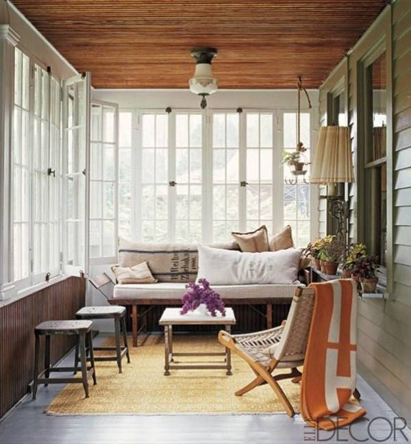 Get Home Design Ideas: Small Cozy Sunroom Design Ideas Home
