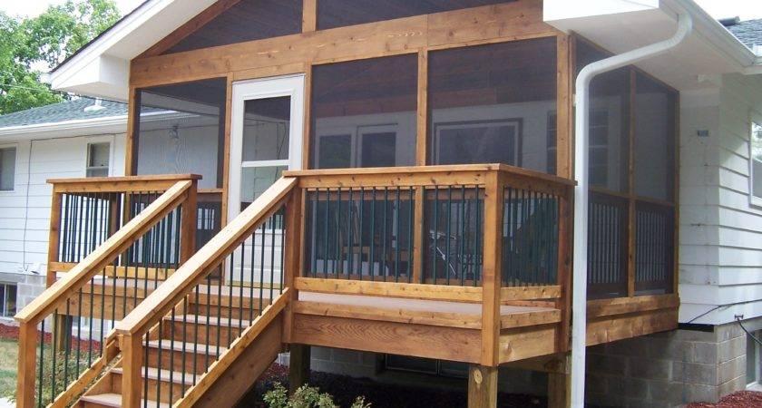 Small Decks Porches Ideas Architecture Plans