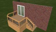 Small Diy Deck Plans