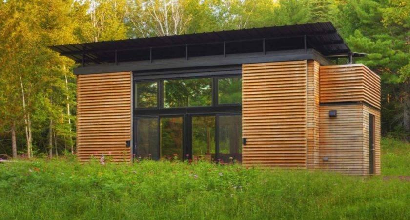 Small Eco Home Elegant Prefab Green