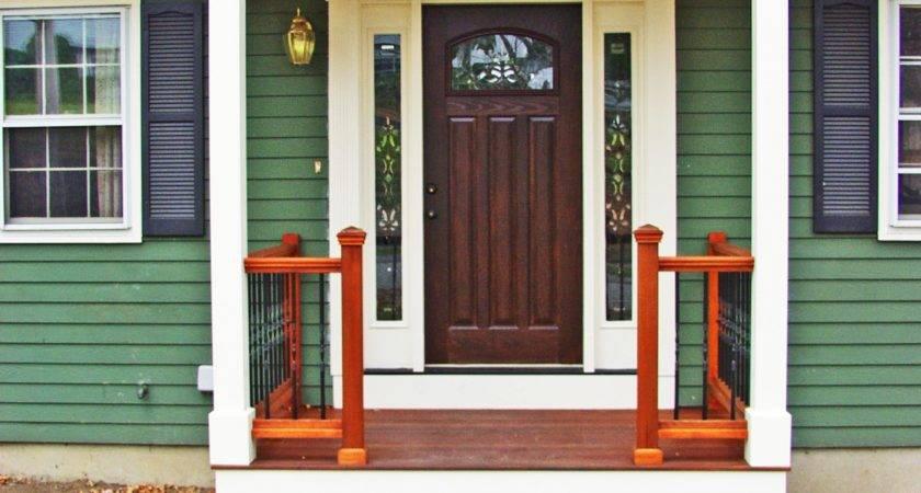 Small Enclosed Front Door Porch