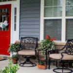 Small Enclosed Front Porch Decorating Ideas