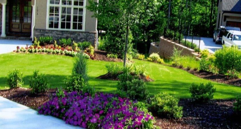 Small Flower Bed Ideas Lawn Garden Luxury