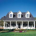 Small Front Porch Plans Bungalow Cape Cod House