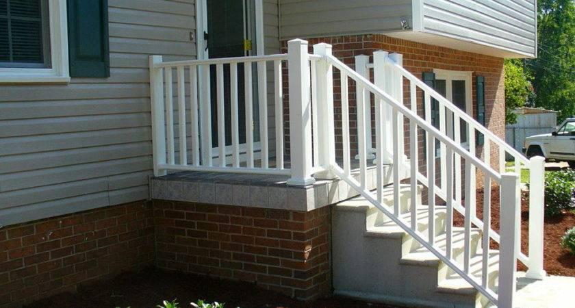 Small Front Porch Railing Ideas Home Design