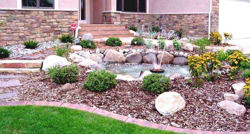 Small Front Yard Landscaping Ideas Rocks Garden
