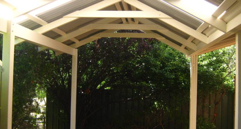 Small Gable Roof Patio Kamelot Constructions