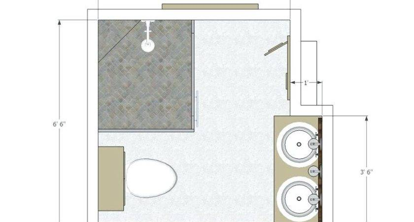 Small Half Bathroom Floor Plans