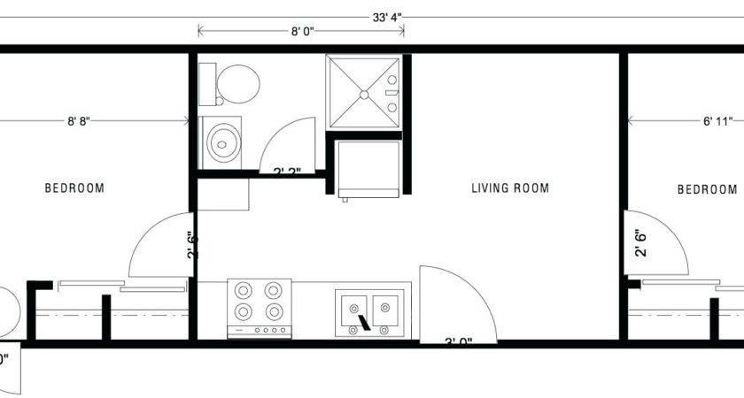 Small House Trailer Plans Floor
