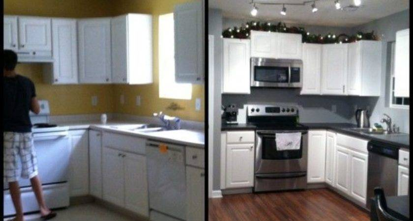 Small Kitchen Remodel Before After
